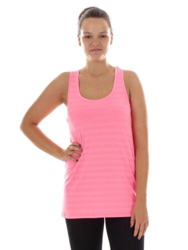 CMP Funktionsshirt Freizeitshirt Tanktop rosa Dryfunction Stretch lang