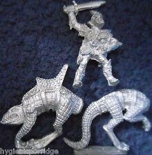1985 Elfo Oscuro C21 H fría Rider orribul Ciudadela caballería Warhammer ejército Drow