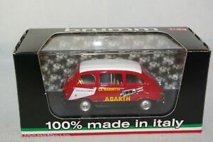 BRUMM-R383-FIAT-600-MULTIPLA-ASSISTENZA-ABARTH-1960