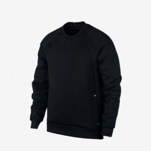 f1611d08693598 Nike Air Jordan Flight Tech Shield Crew Neck Sweatshirt Black L ...