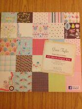 """Grace Taylor Home Sweet Home Cojín de papel de 12"""" X 12"""" 100 hojas (pack Completo)"""