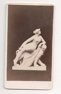Vintage-CDV-Statue-of-Venus-Frankfort-Germany-J-Seib-Photo