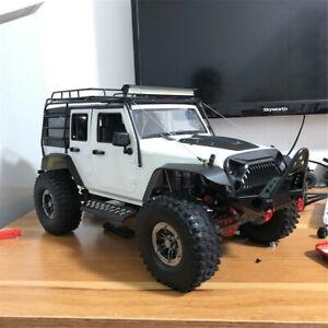 For-Axial-SCX10-90046-1-10-RC-Car-Front-Bumper-Metal-Car-Truck-Parts-DIY