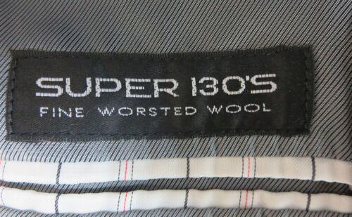 Ralph Lauren Cristal Black Fine Super 130 Wool 2 Button Tuxedo Prom Tux Package