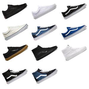 VANS-Old-Skool-SK8-Hi-Mens-Canvas-Casual-Shoes-Sneakers-Skateboard-US-Size