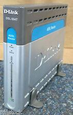 D-LINK DSL-504T Router ADSL con costruito in 4-Port Switch DSL-504T / UK con supporto