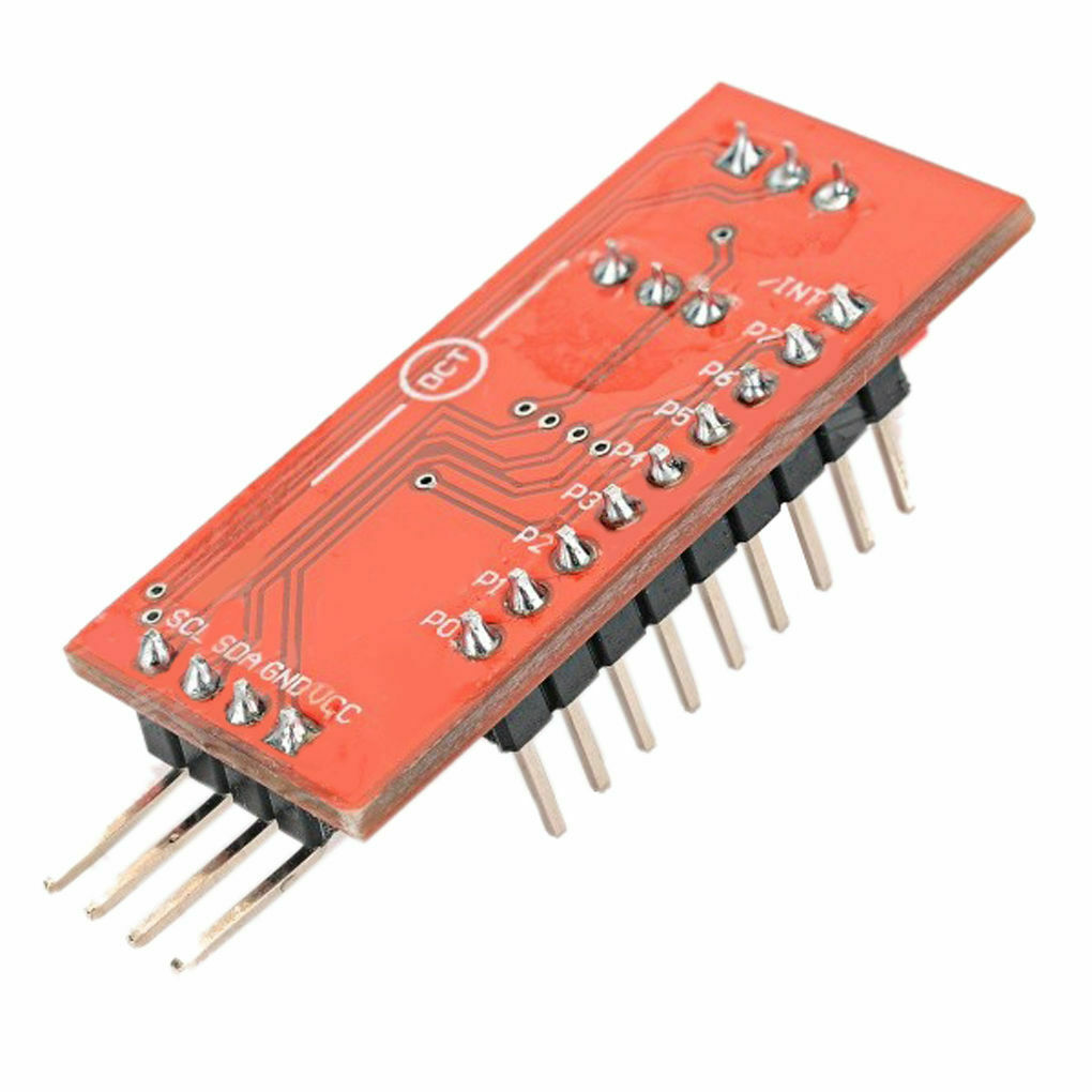 Arduino PCF8574 PCF8574T I2C 8 Bit IO GPIO expander module /& Raspbe JG