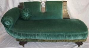 Magnificent Details About Green Chaise Lounge Fainting Couch Sofa Childs Doll Furniture Green Antique O2 Beatyapartments Chair Design Images Beatyapartmentscom