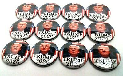 2020 Trump Campaign President Pins 12 Pin Lot New Button Pro Badge Pence 1 Inch