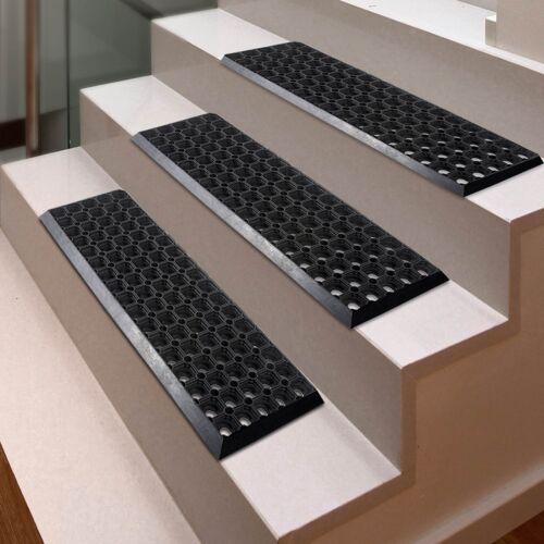 15 Stk Gummi Stufenmatte Stufenmatten Octo Step rutschhemmende Gummistufenmatte