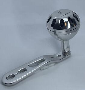 Pro Challenger Custom Aluminum Handle For Newell 400 500 Series Fishing Reels