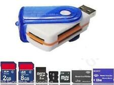 USB STICK 43 IN 1 MULTI MEMORY CARD READER SD MINI SDHC MS MIRO M2 TF MMC