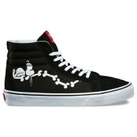 Vans X Peanuts sk8-hi Reissue Sneakers (snoopy Bone/black) Men's Snoopy Shoes