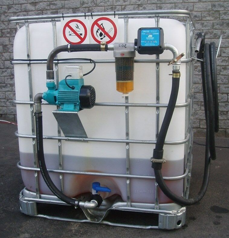 Diesel Tank Or Dispensing System