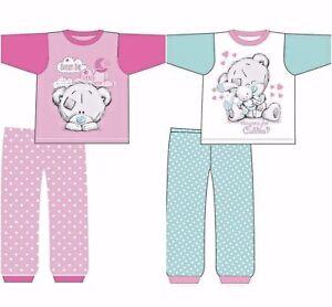 8c047246b Baby Girls Pyjamas Kids Toddlers Me To You Cute Tatty Teddy Babies 6 ...
