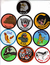 Boy Scout CUB Leader Badges x 10