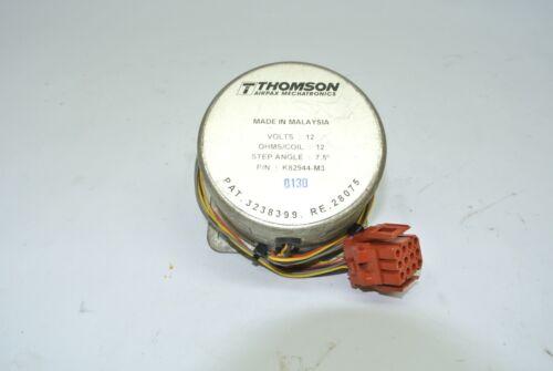 Thomson Airpax Mechatronics Stepping Motor 12V 12Ω 7.5° K82944-M3