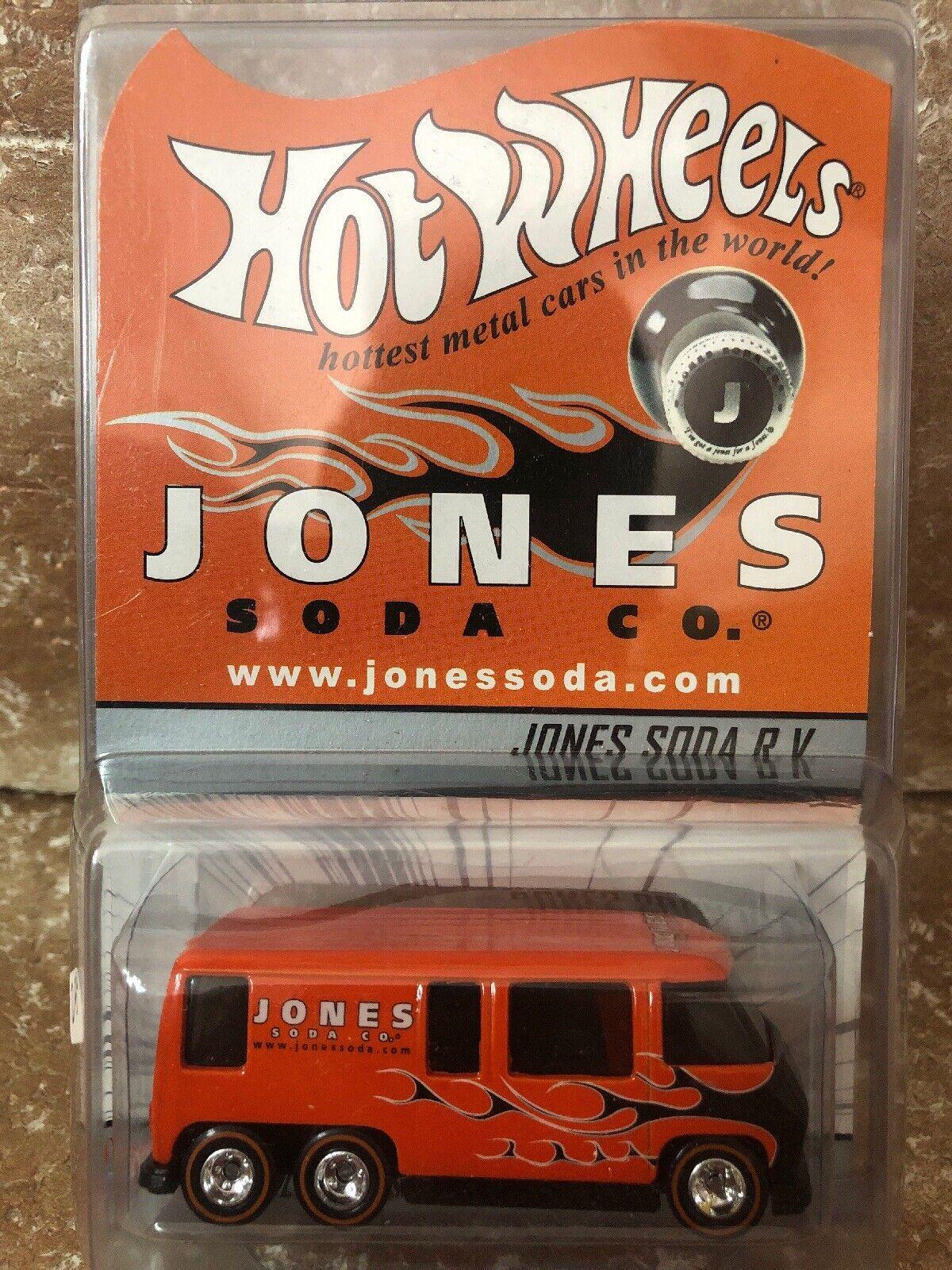 1997 Hot Wheels Jones Soda Edición Limitada Rv AutoCocheavana de Metal 00320 05000