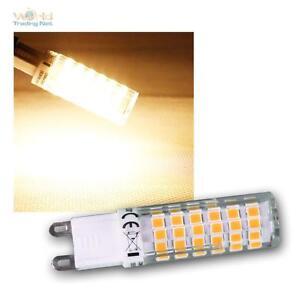 Mini-LED-Lampara-de-zocalo-Fino-G9-6w-Blanco-Calido-540lm-zocalo-pin-Bombilla