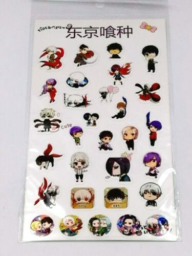 Japanese Anime PVC Stickers Stationery DIY Scrapbook Cards Album Diary Decor