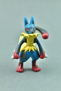 Pokemon-Mega-Lucario-Tomy-Figure-Damaged