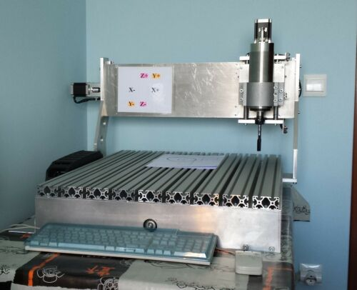 CNC Router 6050 Milling.Drilling Machine DIY Plans Only