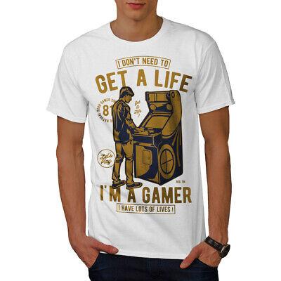 Wellcoda Gamer Lives Joke Mens Tank Top Antisocial Active Sports Shirt