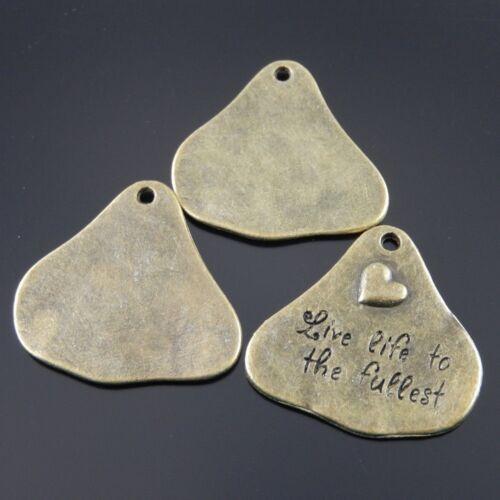 10 pcs Antique Bronze Alliage gravé Cloud Charms Pendentif Bijoux Making 34532