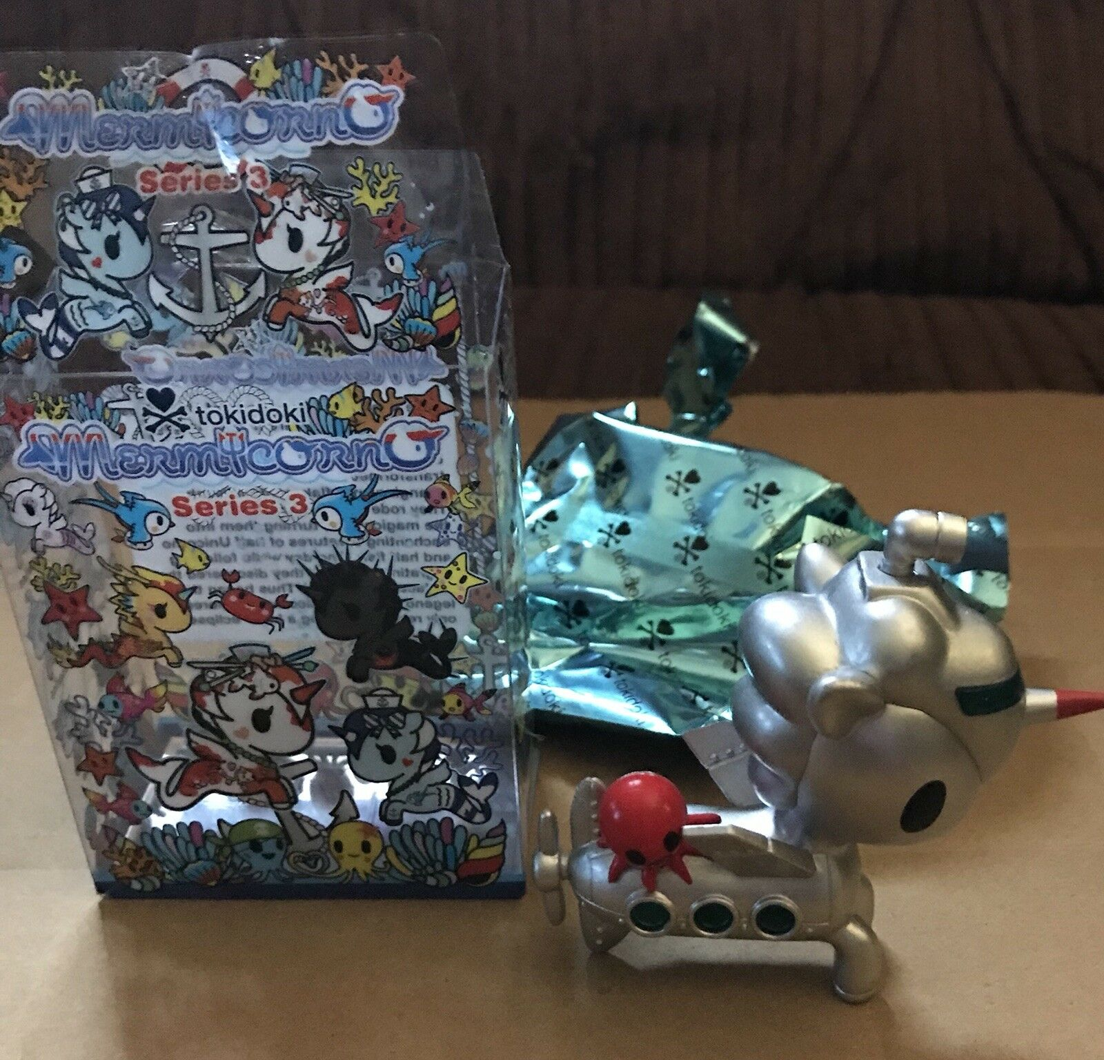 Mermicorno Submarino Chase Series 3 Tokidoki vinyl toy mini figure