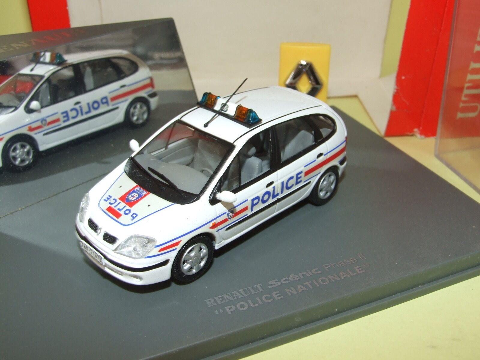 RENAULT SCENIC II POLICE UNIVERSAL HOBBIES 1 43