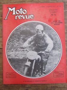 DéTerminé Ancienne Revue Moto Revue N° 1168 Janvier 1954 Essai 125 Ds Malterre Briban