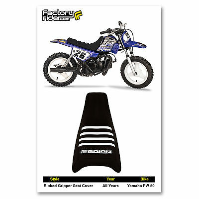 KAWASAKI Z 125 Z125 PRO 2017-2018 SEAT COVER ALL BLACK WITH RIBS GRIPPER BLACK//LIGHT BLUE