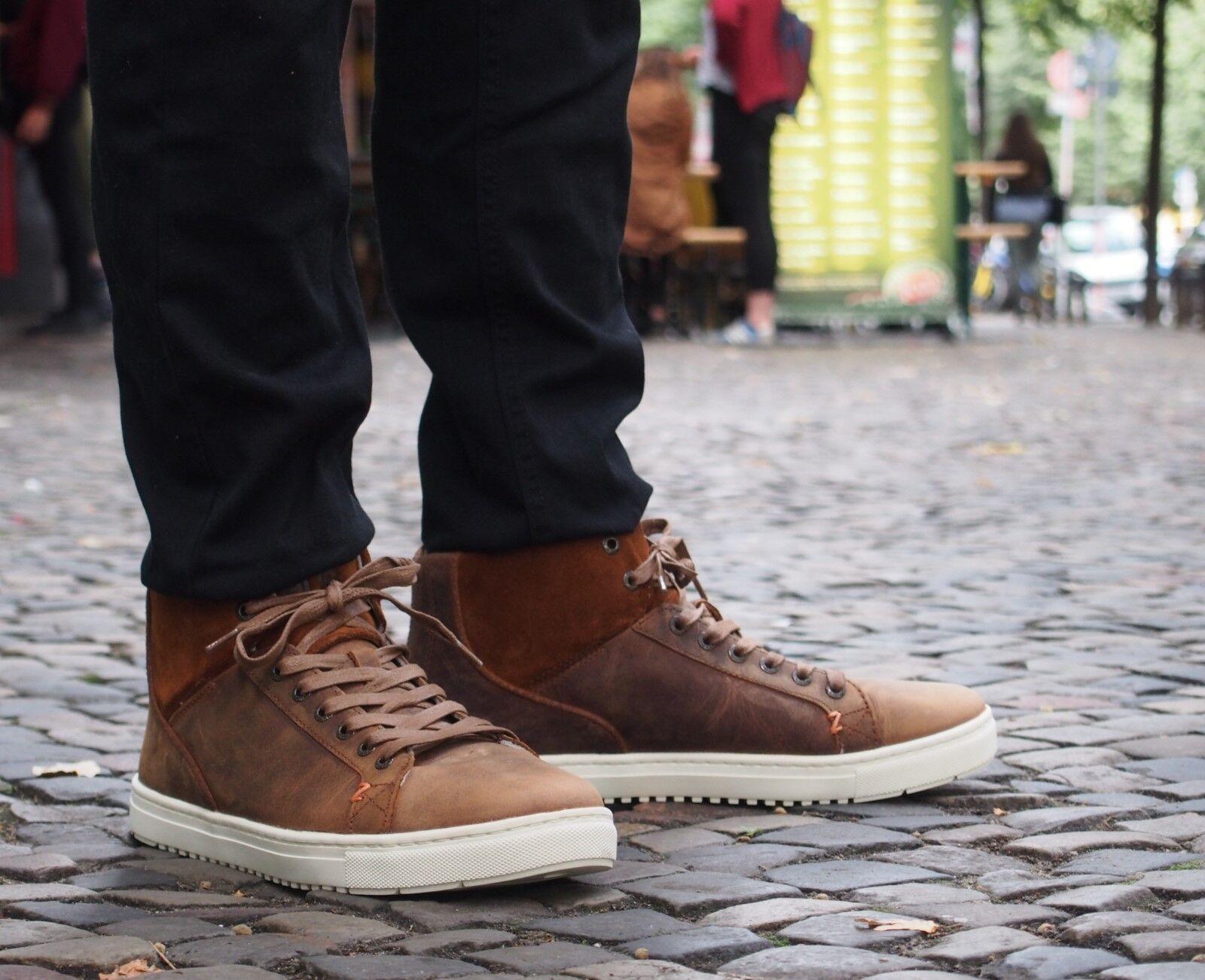 HUB Footwear Schuh MURRAYFIELD braun dogwood Echtleder Herrenschuh Winter 18 NEU