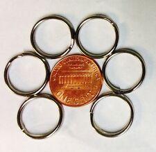 500 Wholesale Nickel Plated Split rings Pet ID tags 16mm x 13mm bulk