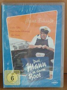 DVD Heinz Ehrhardt - Drei Mann in einem Boot - FSK 6