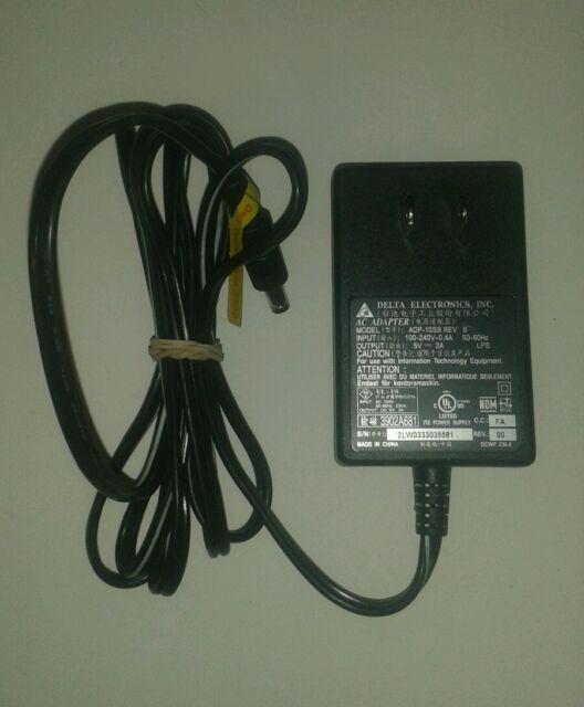 B 5V Delta Electronics AC Adapter power supply ADP-10SB REV
