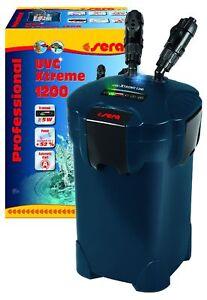 Sera Uvc-xtreme 1200 -elektronisch Steuerbarer Filtre Extérieur Pour Aquariums