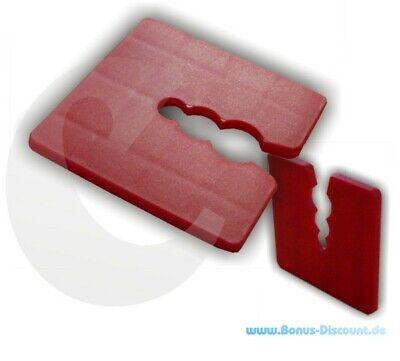 Abstandhalter Vereinigt Kunststoff Distanzhalter Unterleger Distanzklötze 3 Mm Rot Delikatessen Von Allen Geliebt