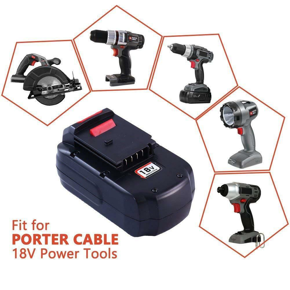 Porter Cable 18v Ni Mh Replacement Li Ion Lithium Ion