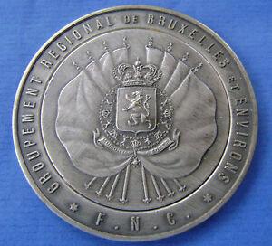 Belgie-Belgium-medaille-groupement-regional-de-bruxelles-reconnaissance