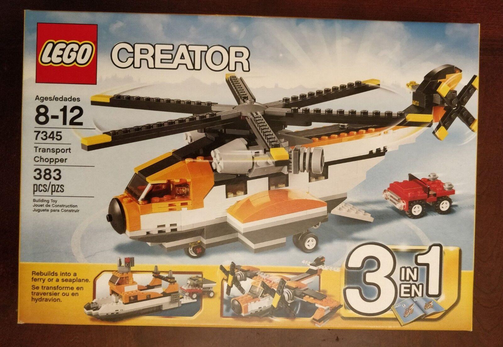 Lego transporthelikopter (7345), NY I låda FACTORY SEALD