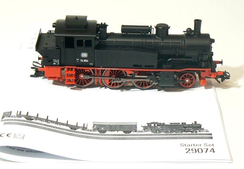 h0 da 29074, Locomotiva BR 74, DB, digitale, mfx, NUOVO