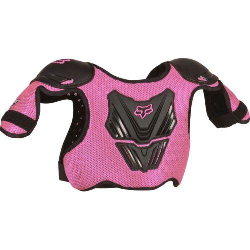Fox Racing PEEWEE TITAN CHEST PRO PROTECTOR GUARD MX ATV PINK//BLACK 06053-285