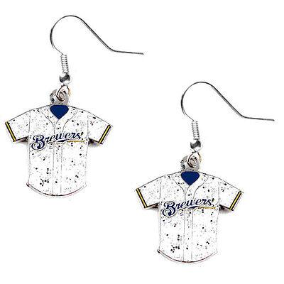 glitter jersey earrings dangle charm MLB Pick your team