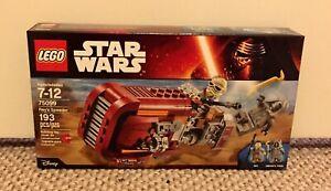 LEGO-Star-Wars-Force-Awakens-75099-Rey-039-s-Speeder-NISB-Ready-to-Ship
