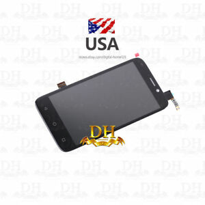 "Details about USA For 5"" ZTE Maven 3 Z835 LCD Display Touch Screen  Digitizer Black Replacement"