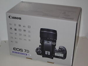 Open Box Canon EOS 7D 18.0 MP Digital SLR Camera - Black (Body Only)