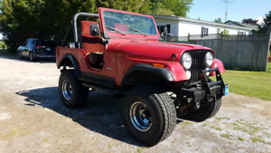 1978 Jeep CJ5 (AS-IS) (Petrolia)