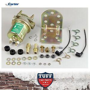 Carter-Gold-4070-Competition-Fuel-Pump-Electric-External-4-6-PSI-Bracket-P4070