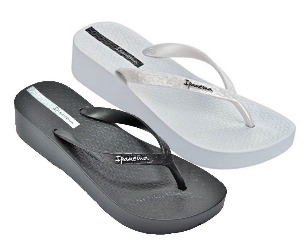 Ipanema Brasil Tropical shoes Womens Flip Flops Platform Sandals Slippers Clogs